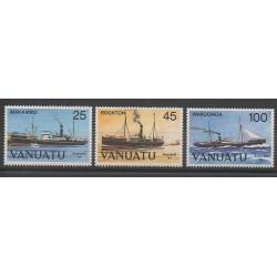 Vanuatu - 1984 - No 699/701 - Bateaux