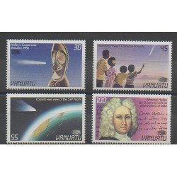 Vanuatu - 1986 - No 743/746 - Astronomie