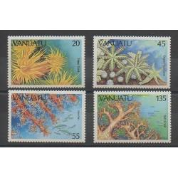 Vanuatu - 1986 - Nb 747/750 - Sea life