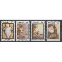 Vanuatu - 1987 - Nb 788/791 - Christmas