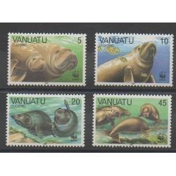 Vanuatu - 1988 - Nb 797/800 - Sea life