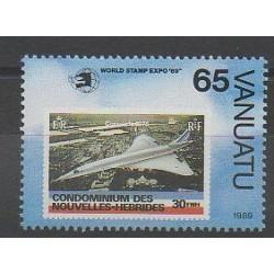 Vanuatu - 1989 - No 837 - Avions