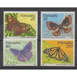 Vanuatu - 1991 - Nb 856/859 - Butterflies