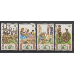 Vanuatu - 1991 - Nb 860/863