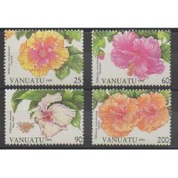 Vanuatu - 1995 - No 968/971 - Fleurs