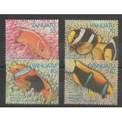 Vanuatu - 1994 - Nb 959/962 - Fishes