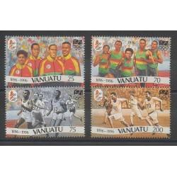 Vanuatu - 1996 - No 1009/1012 - Jeux Olympiques d'été