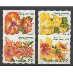 Vanuatu - 1996 - No 1017/1020 - Fleurs