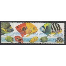 Vanuatu - 1997 - No 1038/1042 - Poissons
