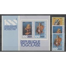 Togo - 1981 - Nb PA445/PA447 - BF151 - Art
