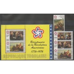 Togo - 1976 - Nb PA272/PA275 - BF92 - Various Historics Themes