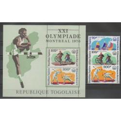 Togo - 1976 - No PA280/PA282 - BF94 - Jeux Olympiques d'été