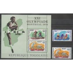 Togo - 1977 - No PA300/PA301 - BF99 - Jeux Olympiques d'été