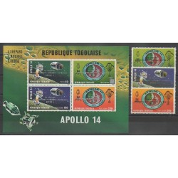 Togo - 1971 - Nb PA161/PA163 - BF54 - Space