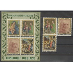 Togo - 1972 - Nb PA185/PA187 - BF64 - Paintings