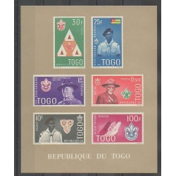 Togo - 1961 - No BF5 - Scouts