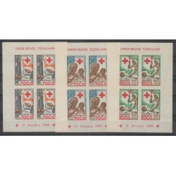 Togo - 1959 - No BF2/BF4ND - Santé ou Croix-Rouge