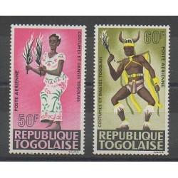 Togo - 1966 - No PA59/PA60 - Costumes