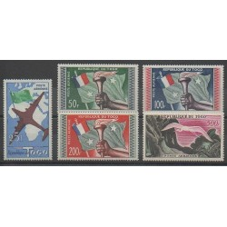 Togo - 1959 - Nb PA29/PA33 - Mint hinged