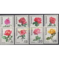 Bulgarie - 1970 - No 1778/1785 - Roses