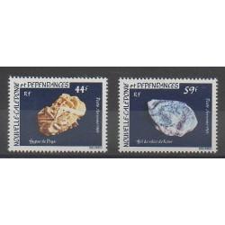 Nouvelle-Calédonie - Poste aérienne - 1983 - No PA227/PA228 - Minéraux