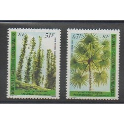 New Caledonia - Airmail - 1984 - Nb PA238/PA239 - Trees