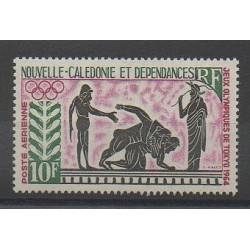 Nouvelle-Calédonie - Poste aérienne - 1964 - No PA76 - Jeux Olympiques d'été