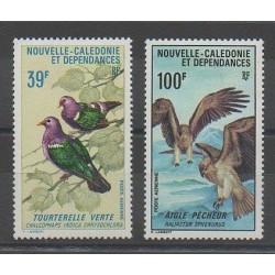 Nouvelle-Calédonie - Poste aérienne - 1970 - No PA110/PA111 - Oiseaux