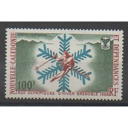 New Caledonia - Airmail - 1967 - Nb PA96 - Winter Olympics