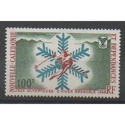 Nouvelle-Calédonie - Poste aérienne - 1967 - No PA96 - Jeux olympiques d'hiver