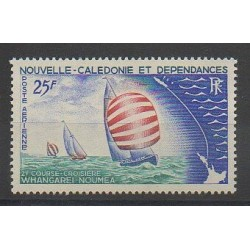 New Caledonia - Airmail - 1967 - Nb PA91 - Boats