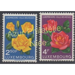 Luxembourg - 1956 - No 508/509 - Roses