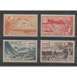 Morocco - 1949 - Nb 271/274