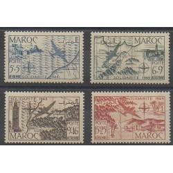 Morocco - 1950 - Nb PA75/PA78