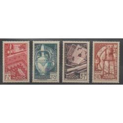 Morocco - 1950 - Nb 288/291