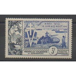 New Caledonia - Airmail - 1954 - Nb PA65