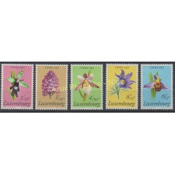 Luxembourg - 1975 - No 864/868 - Fleurs