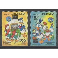 Togo - 1986 - No PA605/PA606 - Walt Disney