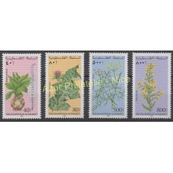 Palestine - 1998 - No 75/78 - Fleurs