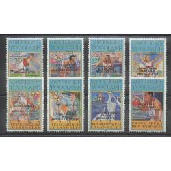 Togo - 1986 - No PA594/PA601 - Jeux Olympiques d'été