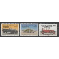 Togo - 1986 - Nb PA584/PA585 - PA588 - Cars