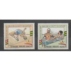 Togo - 1989 - No PA663A/PA663B - Jeux Olympiques d'été