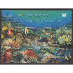 Vanuatu - 2004 - No 1189/1200 - Poissons - Vie marine