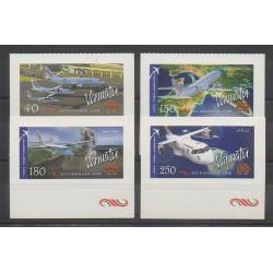 Vanuatu - 2007 - No 1298/1301 - Avions