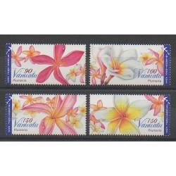 Vanuatu - 2009 - Nb 1345/1348 - Flowers