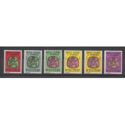 Nouvelle-Calédonie - Timbres de service - 1980/1984 - No S31/S36