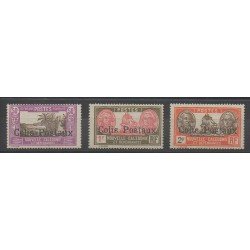 Nouvelle-Calédonie - 1930 - No CP4/CP6 - Neuf avec charnière