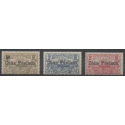 Nouvelle-Calédonie - 1926 - No CP1/CP3 - Neuf avec charnière