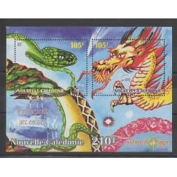 Nouvelle-Calédonie - Blocs et feuillets - 2000 - No BF23 - Horoscope