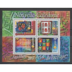New Caledonia - Blocks and sheets - 2000 - Nb BF24 - Art
